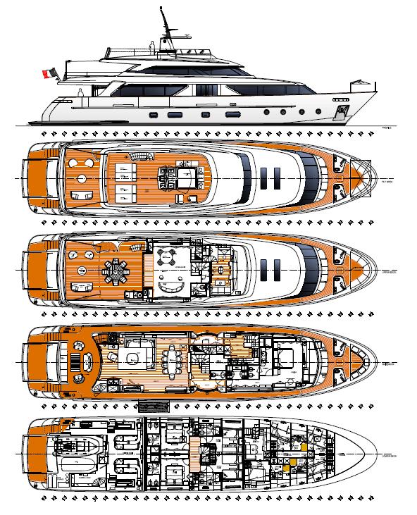 San-lorenzo Yacht 112 Layout 1