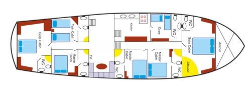 Perla Del Mar 2 layout