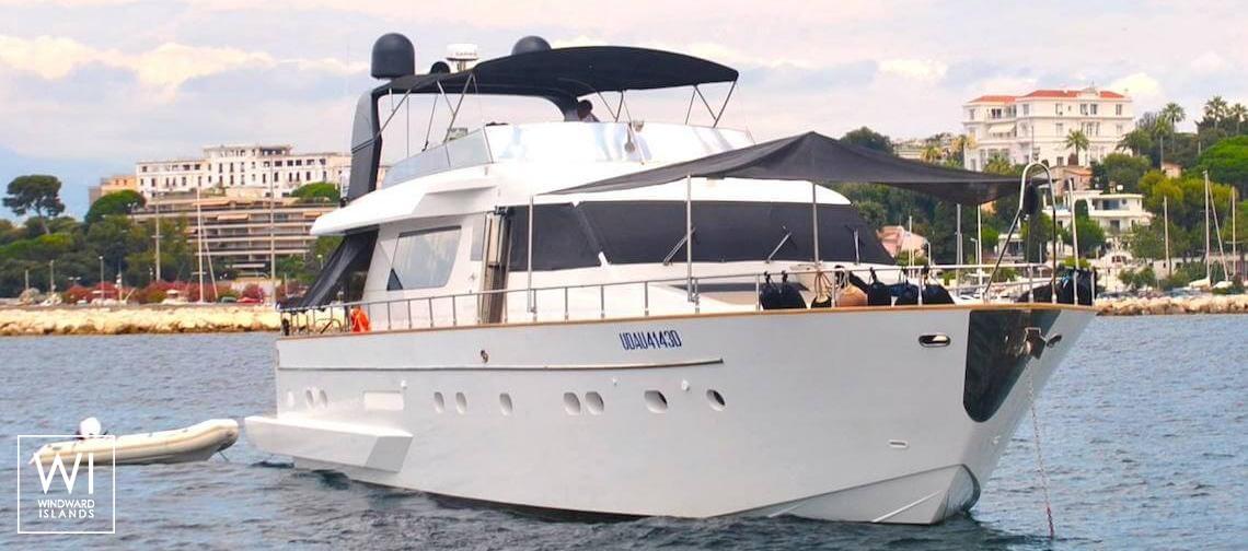 ALL WE NEED (ex SAMSARA)San Lorenzo Yacht SL 70