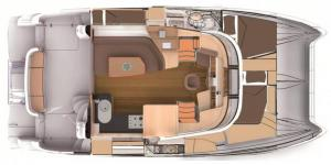 Fountaine-pajot Summerland 40 Layout 1