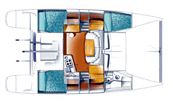 Fountaine-pajot Mahe 36 Layout 1