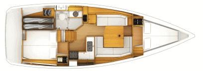 Beneteau Oceanis 38 Layout 0