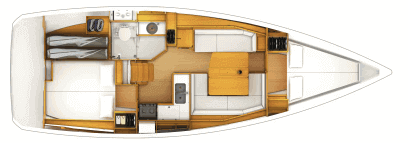 Beneteau Oceanis 38 Layout 4