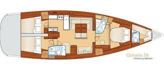 Beneteau Oceanis 54 Layout 1