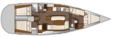 Allures-yachts Allures 45 Layout 1