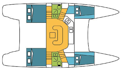 Catana-catamaran Catana 41oc Layout 1