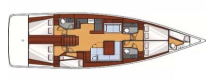 Beneteau Oceanis 55 Layout 1