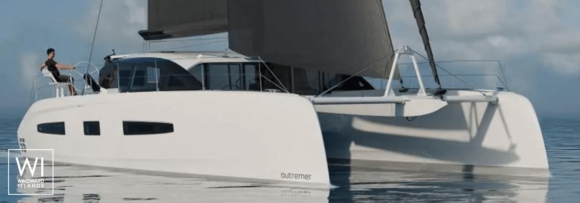 Outremer 55 Outremer Catamaran Exterior 1
