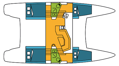 Catana-catamaran Catana 42 Layout 1