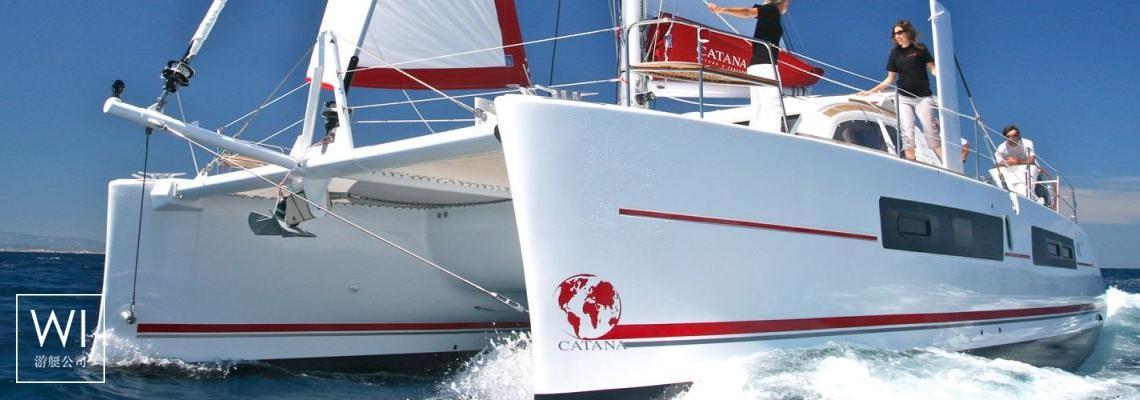 波利尼西亚 - Bali 4.5Catana Catamaran