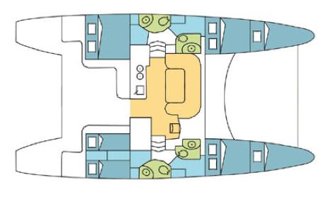 Catana-catamaran Catana 43oc Layout 1