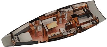 Bavaria-yachts Bavaria 46vision Layout 1