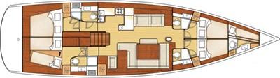 Beneteau Oceanis 58 Layout 0