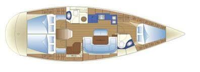 Bavaria-yachts Bavaria 39 Layout 1