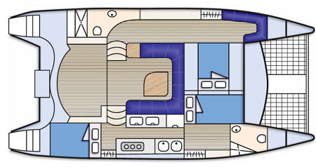 Seawind-catamaran Seawind 1160 Layout 1