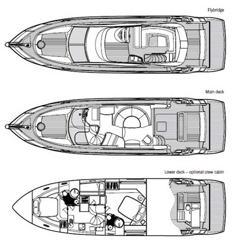 Sunseeker Manhattan 50 Layout 1