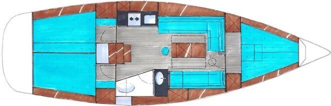 Bavaria-yachts Bavaria 35 Layout 1