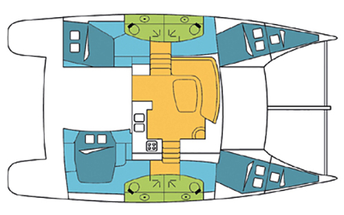 Fountaine-pajot Orana 44 Layout 1