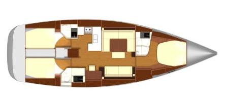 Dufour-yachts Dufour 485 Layout 1
