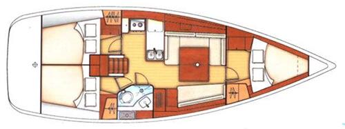 Beneteau Oceanis 37 Layout 1