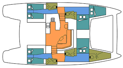 Catana-catamaran Catana 50oc Layout 1