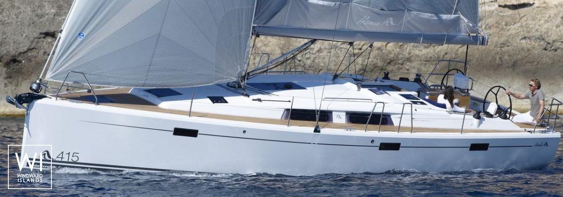 Hanse 415 Hanse Yachts Exterior 1