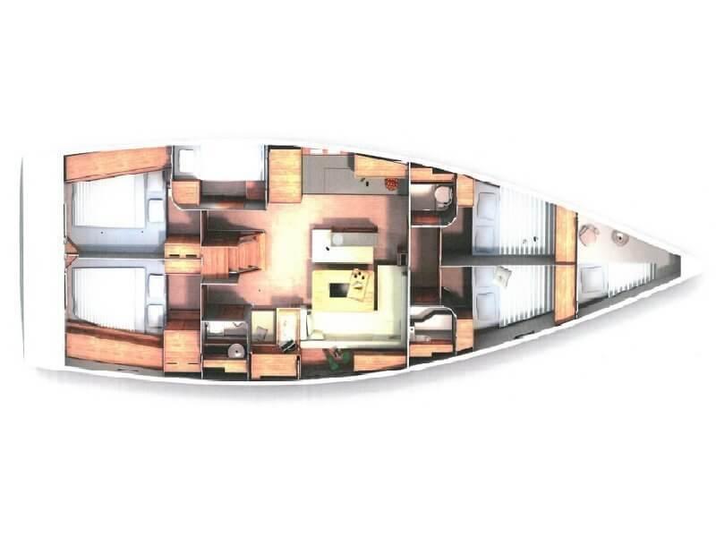 Hanse-yachts Hanse 505 Layout 1