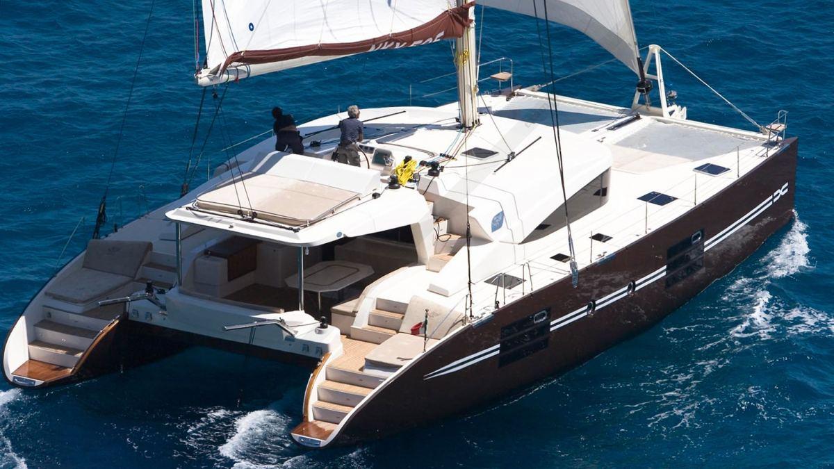 catamaran nyx 565  u00e0 louer 2011  sicile  italie