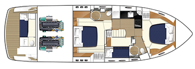 Princess-yachts Princessp 50 Layout 1