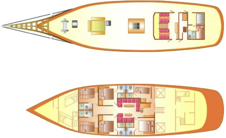 Custom Schooner 100 Layout 5
