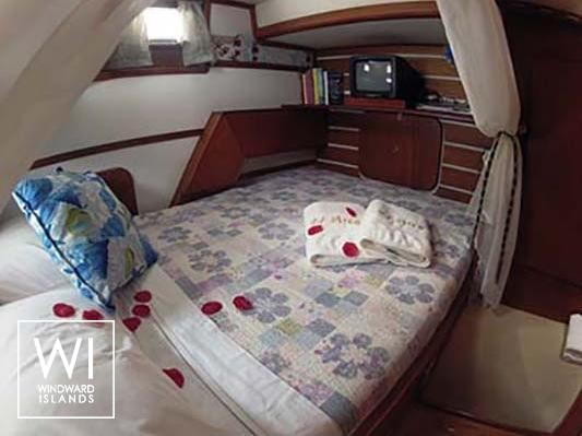 Custom Catamaran 43 Interior 5