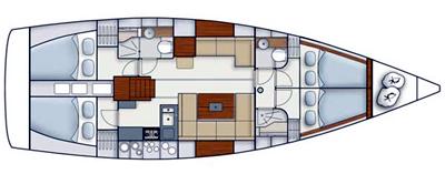 Hanse-yachts Hanse 445 Layout 1