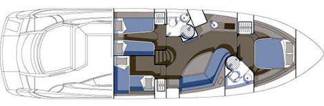 Sunseeker Portofino 53 Layout 1