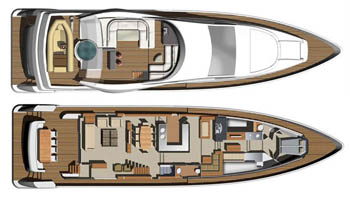 Aicon-yachts Aiconfly 85 Layout 1