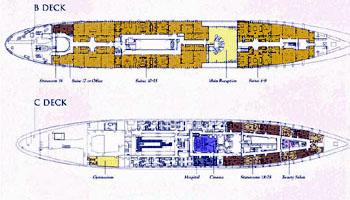 Lubecker-flender Yacht 122m Layout 2