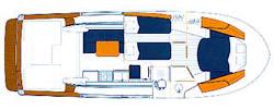Beneteau Antares 1080 Layout 1