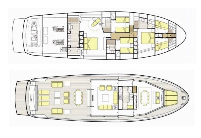 Arcadia Yacht 85 Layout 1