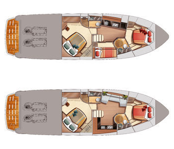 Azimut-yachts Atlantis 50 Layout 1