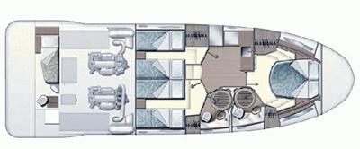 Azimut-yachts Azimut 47 Layout 1