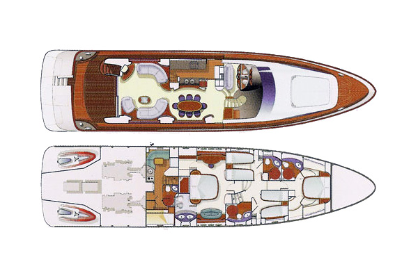 Azimut-yachts Fly 80 Layout 1