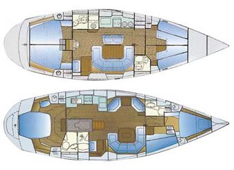 Bavaria-yachts Bavaria 47 Layout 1