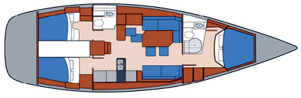 Beneteau First 50 Layout 1