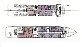 Cassens-werft Yacht 90m Layout 1