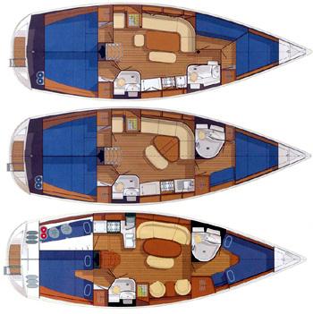 Delphia-yachting Delphia 40 Layout 1
