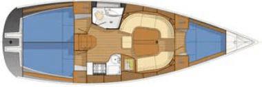 Delphia-yachting Delphia 37 Layout 1