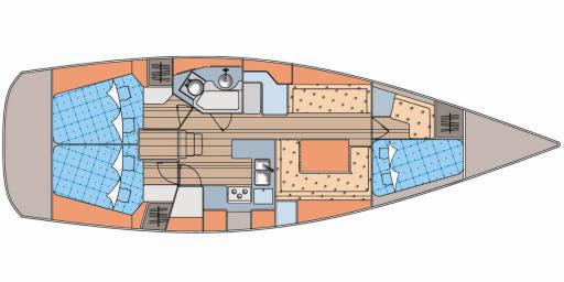 Elan-yachts Elan 410 Layout 1