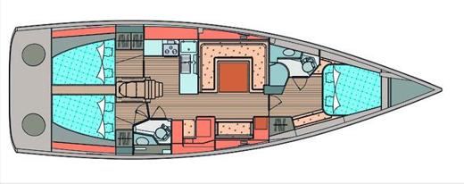 Elan-yachts Elan 450 Layout 1