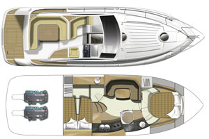 Fairline Targa 38 Layout 1