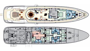 Isa Yacht 36m Layout 1
