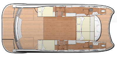 Flash-catamaran Flashcat 435 Layout 1